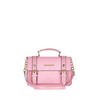 Light pink mini satchel