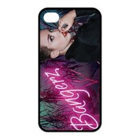 Fashion Miley Cyrus Personalized iPhone 4 4S Rubber Silicone Case Cover -CCINO