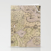 Rough Terrain Stationery Cards by Ben Geiger