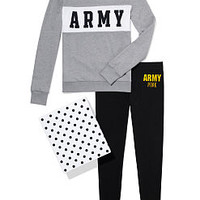 Army Colorblock Crew & Legging Gift Set - PINK - Victoria's Secret