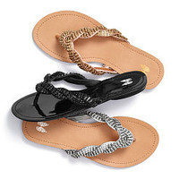 Rhinestone Braided Sandal - VS Collection - Victoria's Secret