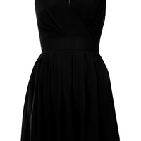 **Cross Bust Chiffon Dress by Wal G - Topshop USA