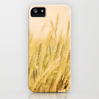 Wild Wheat iPhone & iPod Case by Around the Island (Robin Epstein)