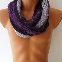 BIG SALE, Purple  - Men's Fashion Scarf,  Men's Accessories, Neck Warmer, 2014