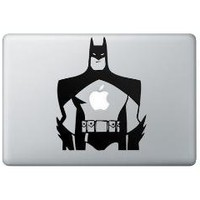 Comic Style Batman Macbook Decal Skin by PlatformNineVinyl on Etsy