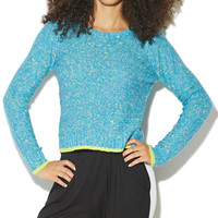 Confetti Crop Pullover Sweater | Shop Just Arrived at Wet Seal
