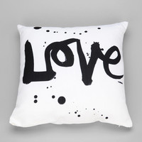Kal Barteski For DENY Love 1 Pillow - Urban Outfitters