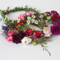 Stone Fox Bride — Fresh Flower Crowns