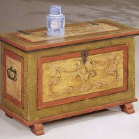 Restored antique furniture and reproduced - The Commode of David Horn