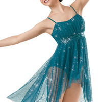 Sequin Mesh Camisole Dress; Weissman Costumes