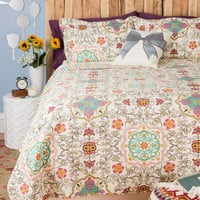 Carriage House Quilt Set in Twin | Mod Retro Vintage Decor Accessories | ModCloth.com