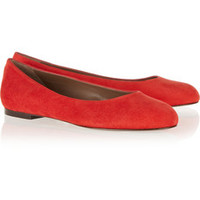 Marni Suede ballet flats – 60% at THE OUTNET.COM