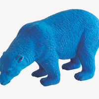 ERASER BLUES Rubber Large blue polar bear rubber -                HabitatUK