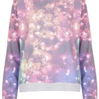 Fairy Lights Loungewear Top