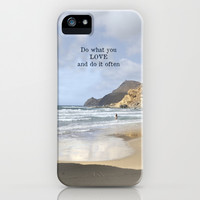Do what you LOVE and do it often. Summer dreams iPhone & iPod Case by Guido Montañés