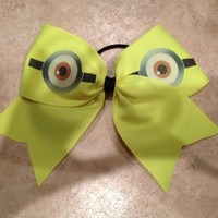 Despicable Me Cheer Bow