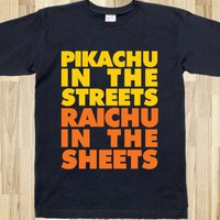 PIKACHU IN THE STREETS