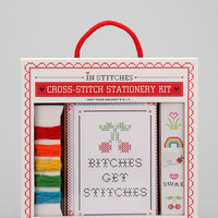 Cross-Stitch Stationary Set - Urban Outfitters