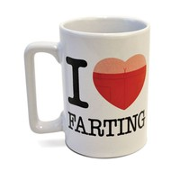 Talking Mug - I Love Farting