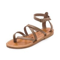 Epicure Crisscross Sandals