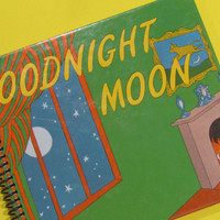 GOODNIGHT MOON book journal notebook by PortElizabethVillage
