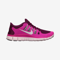The Nike Free 5.0+ Women's Running Shoe.