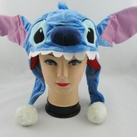 DISNEY WORLD LILO STITCH COSTUME PLUSH HAT CAP NEW