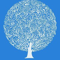 Blue Tree Print by Judykaufmann on Etsy