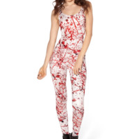 Blood Splatter Catsuit (48HR) - LIMITED | Black Milk Clothing