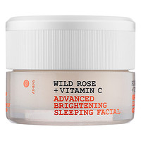 Sephora: Korres : Wild Rose + Vitamin C Advanced Brightening Sleeping Facial : face-mask