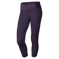 Nike Store. Nike Epic Run Printed Women's Cropped Running Tights