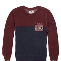 On The Byas Eden Blocked Crew Fleece at PacSun.com