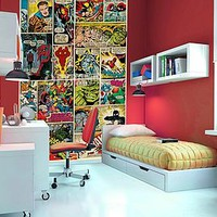 Comic Book Wallpaper Mural