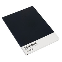 PANTONE UNIVERSE A4 Sketchbook in PANTONE Black 6 C