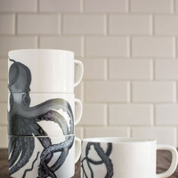 Tentacle Spectacular Mug Set | Mod Retro Vintage Kitchen | ModCloth.com
