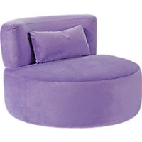 Cora Purple Chair