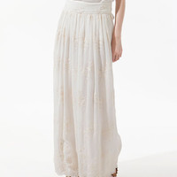 LONG EMBROIDERED SKIRT - Skirts - Woman - ZARA United States