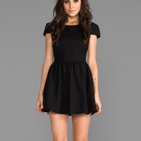 Lovers + Friends Voulez Vous Dress in Black