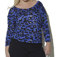 Animal Print Cowl Back Top | Shop Jr. Plus at Wet Seal