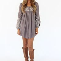 Embroidered High Low Dress or Top