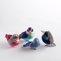 Sisal Bird Ornaments