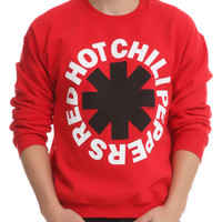 Red Hot Chili Peppers Logo Crewneck Sweatshirt | Hot Topic
