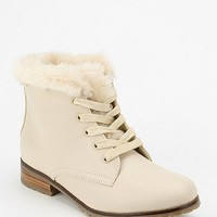 Kimchi Blue Lined Collar Lace-Up Boot - Urban Outfitters