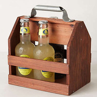 Wooden Beverage Caddy