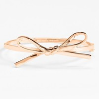 kate spade new york 'skinny mini' bow bangle | Nordstrom