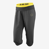 The Nike Stealth Obsessed Dri-FIT (Oregon) Women's Training Capris.