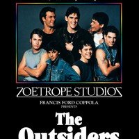 The Outsiders 8x10 11x17 16x20 24x36 27x40 Movie Poster Vintage Tom Cruise B