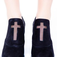 UNIF Confession Boot Black