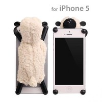 Strapya World : simasima SHEEP Plush iPhone 5/iPhone 5s Case (Ivory)