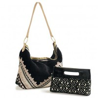 Sahara Hobo Bag and Clutch - VivaTerra